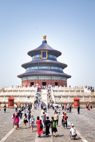 Temple of Heaven - Fineart photography by Oona Kallanmaa