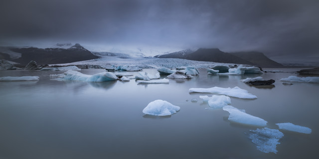 at the foot of glacier - Fineart photography by Anke Butawitsch