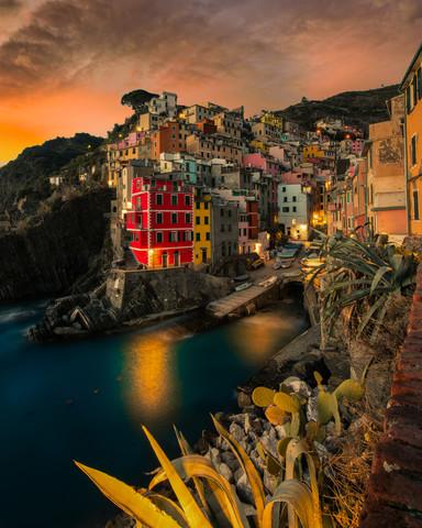 Magic Riomaggiore - Fineart photography by Vincenzo Romano