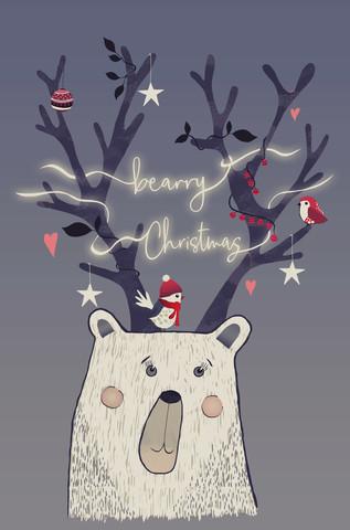 bearry Christmas - Fineart photography by Sabrina Ziegenhorn