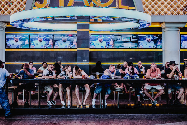 The Last Supper in Sin City - Fineart photography by Sebastian Trägner