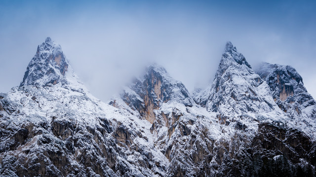 Summits and Clouds - Fineart photography by Martin Wasilewski