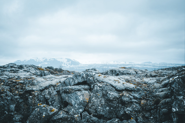 Winter in Thingvellir - Fineart photography by Pascal Deckarm