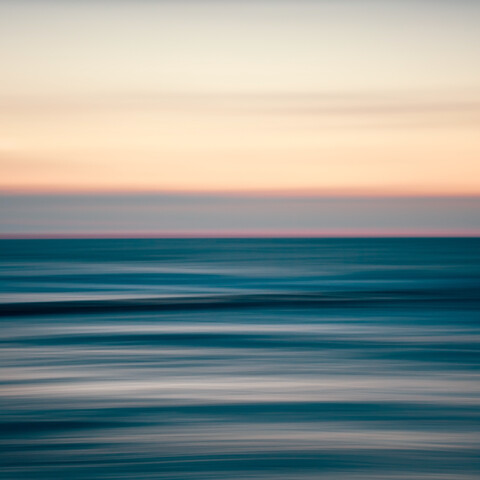 Sunset at the sea - Fineart photography by Holger Nimtz