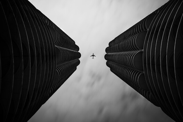 Two Towers - Fineart photography by Roman Becker