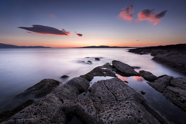 Sunset in Scotland - Fineart photography by Felix Baab