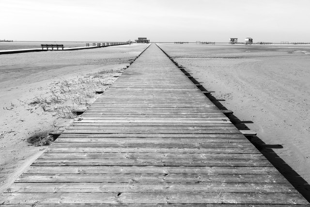 Sankt Peter Ording - Fineart photography by Angelika Stern