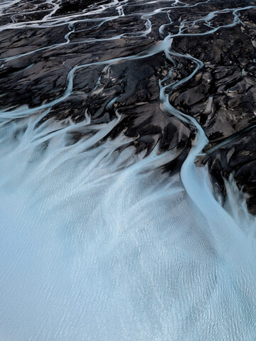 Glacial Rivers - Fineart photography by Frida Berg