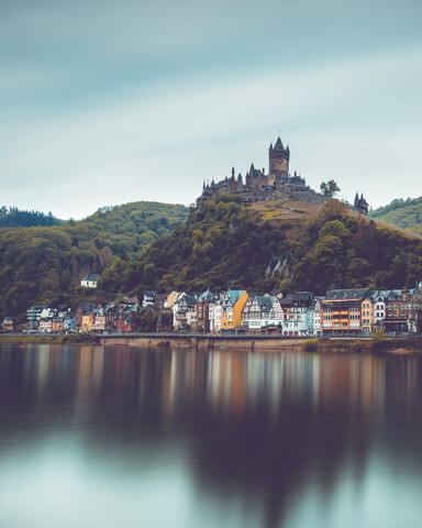 Cochem castle - Fineart photography by Franz Sussbauer