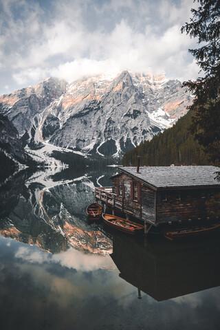 Pragser Wildsee - Lago di Braies - Fineart photography by Christian Becker