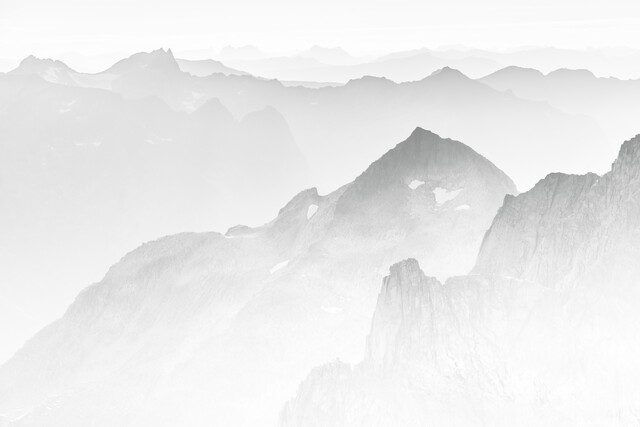 Grey Mountains - Fineart photography by Sebastian Worm