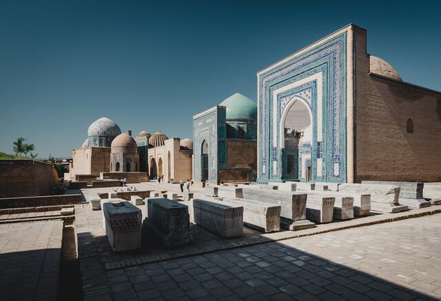 Shah-i-Zinda complex, Samarkand - Fineart photography by Eva Stadler