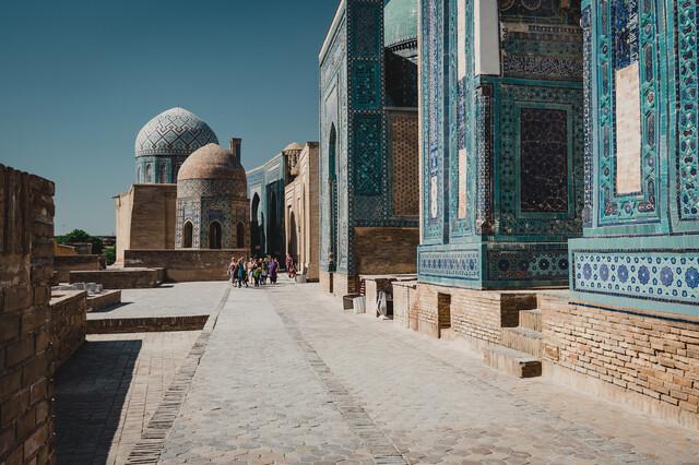 Shah-i-Zinda ensemble, Samarkand - Fineart photography by Eva Stadler