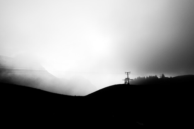 FOG LINE - Fineart photography by Jan Henryk Köppen