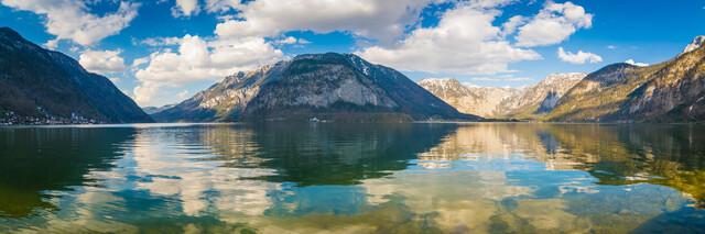 Lake Hallstatt - Panorama - Fineart photography by Martin Wasilewski