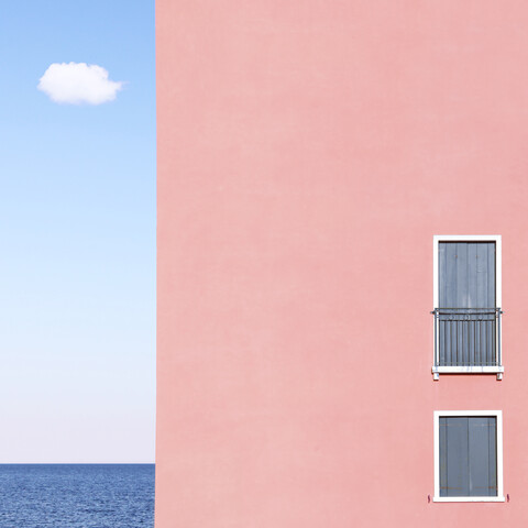 The House, The Cloud, The Sea - Fineart photography by Rupert Höller