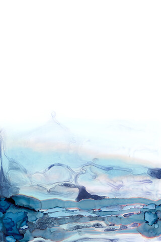 Abstract Flow   Ink Original Painting - Fineart photography by Cristina Chivu