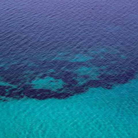 Greek Blue Sea - Fineart photography by Courtney Crane