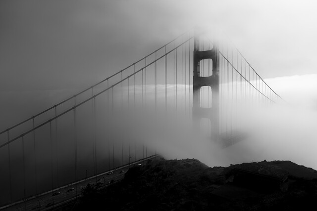 morning in san francisco - Fineart photography by Kristina Maria Rainer