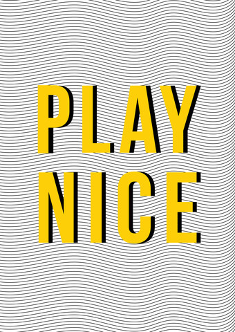 Play Nice - Fineart photography by Frankie Kerr-Dineen