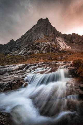 Norwegen Wasserfall - Fineart photography by Sebastian Worm