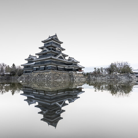 Matsumotu Castle Japan - Fineart photography by Ronny Behnert