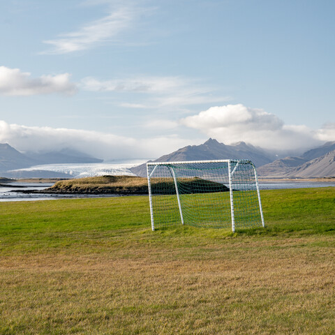 GRASS, GOAL, GLACIER - Fineart photography by Franz Sussbauer