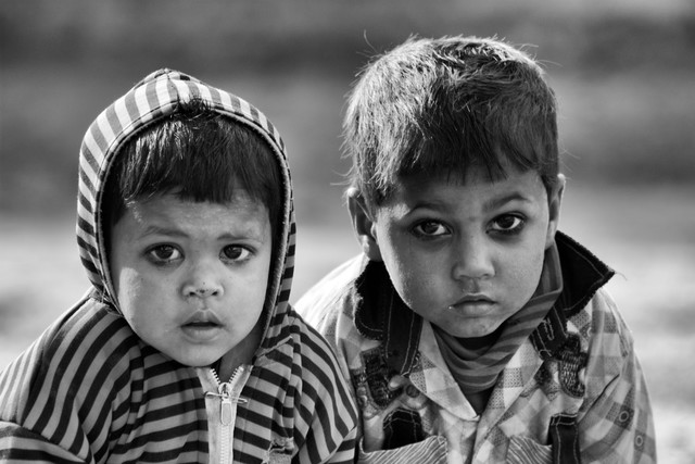 Siblings - Fineart photography by Jagdev Singh