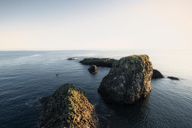 Rocks in the Atlantic Ocean - Fineart photography by Pascal Deckarm