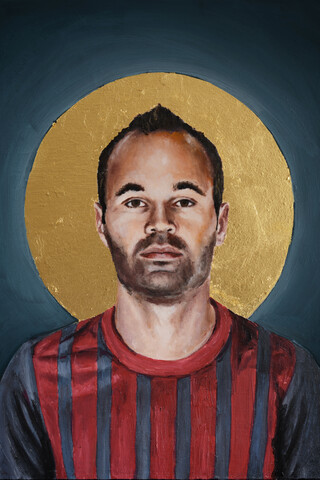 Andres Iniesta - Fineart photography by David Diehl