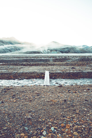 Footpath in Landmannalaugar - Fineart photography by Franz Sussbauer