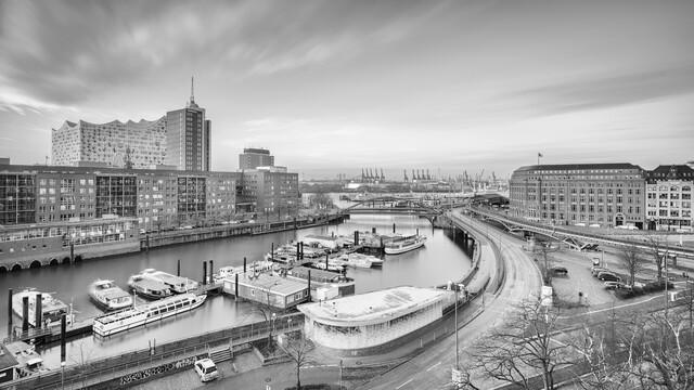 Hamburg Elbphilharmonie and harbour - Fineart photography by Dennis Wehrmann