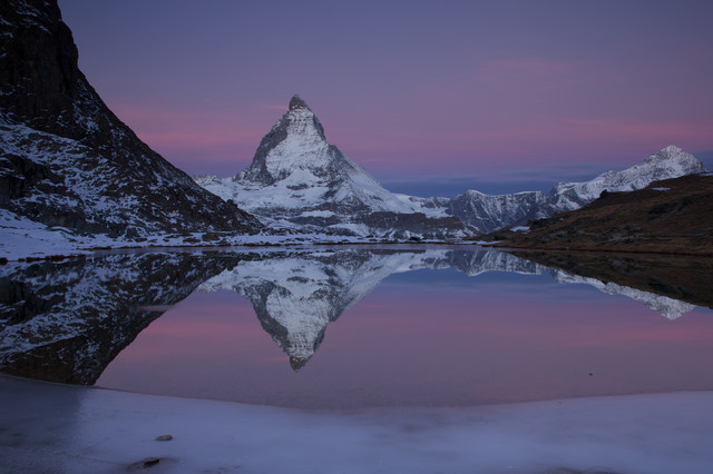 Dawn at the Matterhorn - Fineart photography by Stefan Blawath