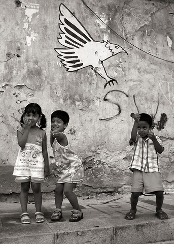 Palermo Kids - Sicily - Fineart photography by Silva Wischeropp