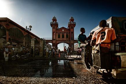 Frank Domahs, Der Eisenmarkt in Port-au-Prince (Haiti, Latin America and Caribbean)
