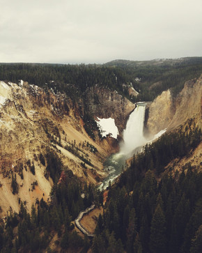 Kevin Russ, Yellowstone Falls (United States, North America)
