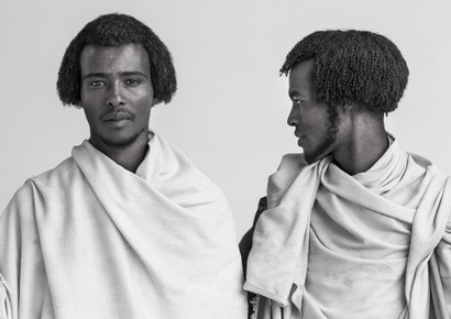 Eric Lafforgue, Karrayyu tribe men, Ethiopia (Ethiopia, Africa)