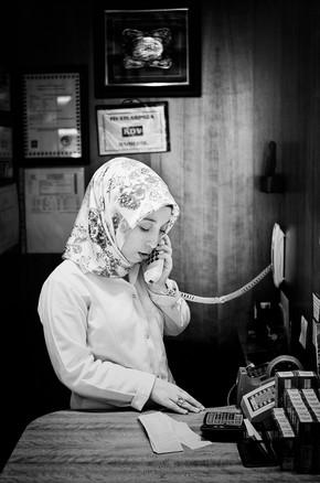 Victoria Knobloch, Verkäuferin in Istanbul (Turkey, Europe)