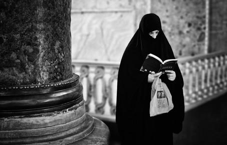 Victoria Knobloch, In Hagia Sofia... (Turkey, Europe)