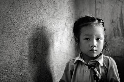 Victoria Knobloch, Mädchen aus Kathmandu (Nepal, Asia)