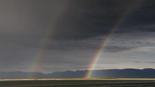 Schoo Flemming, Double Rainbow (Mongolia, Asia)