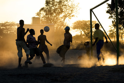 Schoo Flemming, Namibian Soccer (Namibia, Africa)