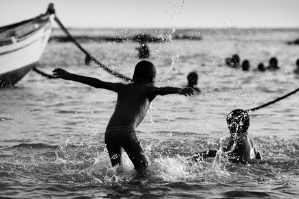 Victor Bezrukov, happiness and sea (Israel and Palestine, Asia)