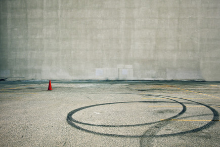 Jeff Seltzer, Parking (with Orange Cone) (Bermuda, North America)