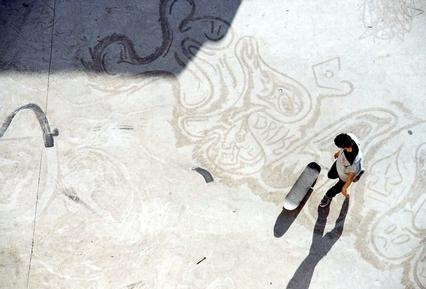 Daniel Ritter, Skateur aux Abattoirs de Casablanca (Morocco, Africa)