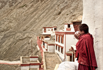Victoria Knobloch, Monk at Rizong Monestray (India, Asia)