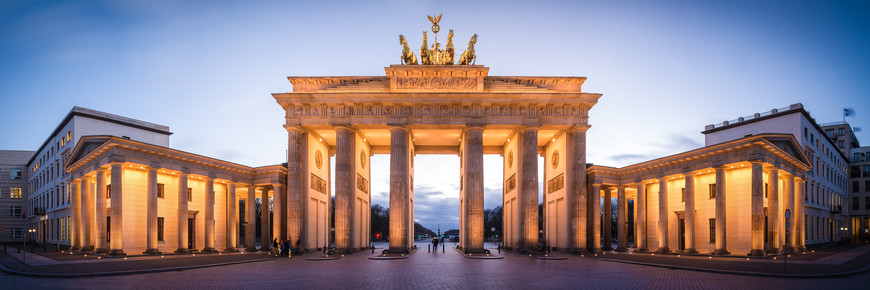 Jean Claude Castor, Berlin - Brandenburger Gate Panorama (Germany, Europe)