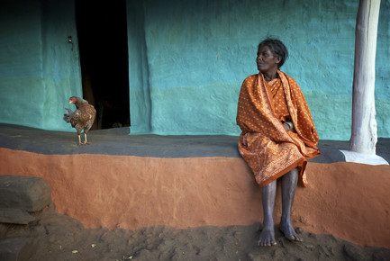 Ingetje Tadros, The Woman and the Chicken (India, Asia)