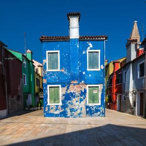 Jean Claude Castor, Venice - Burano Study #2 (Italy, Europe)