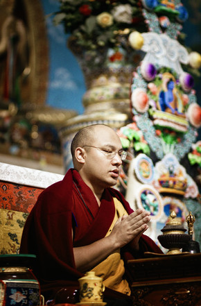 Victoria Knobloch, His Holiness the 17th Karmapa (India, Asia)